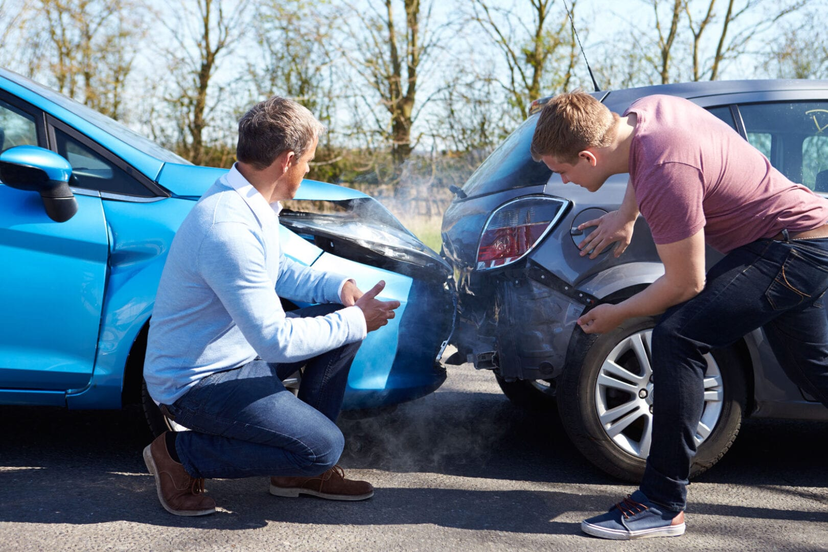 Top Tips to follow at a Road Traffic Collision Scene