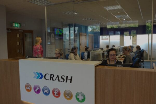 CRASH Services accident management specialists